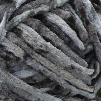 Bernat Deep Gray Crushed Velvet Yarn (5 - Bulky)