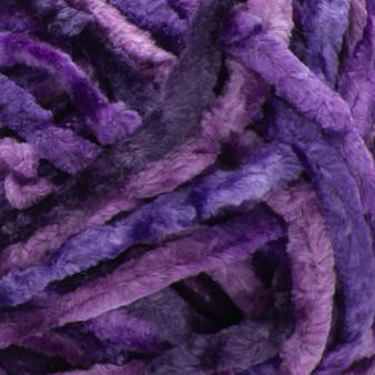 Bernat Potent Purple Crushed Velvet Yarn (5 - Bulky)