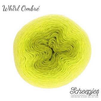 Scheepjes Citrus Squeeze Whirl Ombre Yarn (1 - Super Fine)