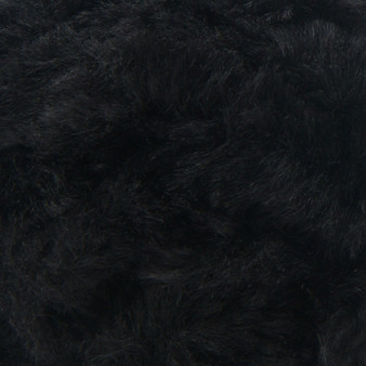 Lion Brand Black Panther Go For Faux Thick & Quick Yarn - Small Ball (7 - Jumbo)