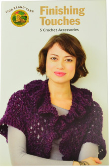 Lion Brand Finishing Touches 5 Crochet Accessories - Book
