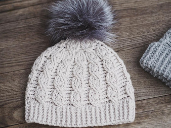 Favorite Cable Hat - Downloadable Pattern