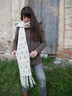 Knit Lace Scarf - Downloadable Pattern