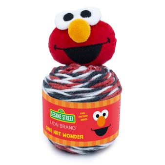 Lion Brand Elmo Sesame Street One Hat Wonder Yarn (4 - Medium)
