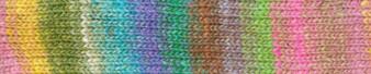 Noro #463 Pink, Blue, Green Silk Garden Sock Yarn (2 - Fine)