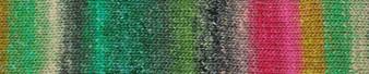 Noro #493 Green, Grey, Pink Silk Garden Sock Yarn (2 - Fine)
