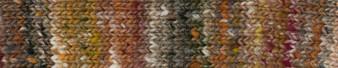 Noro #12 Brown, Grey, Red Ito Yarn (4 - Medium)