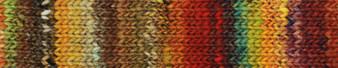 Noro #13 Red, Orange, Brown Ito Yarn (4 - Medium)