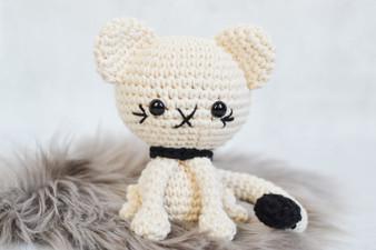 Cecil The Cat Crochet Amigurumi - Downloadable Pattern