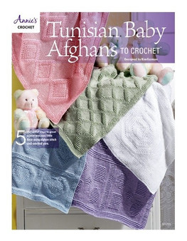 Tunisian Baby Afghans to Crochet - Book