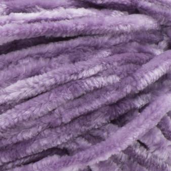 Bernat Gray Orchid Velvet Yarn (5 - Bulky)