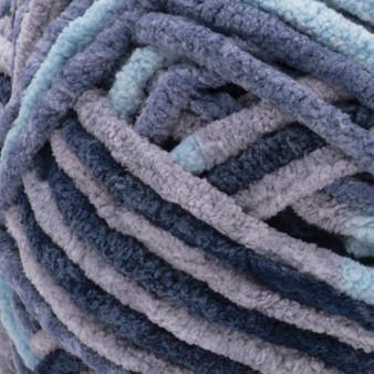 Bernat Mineral Blue Blanket Yarn - Big Ball (6 - Super Bulky)