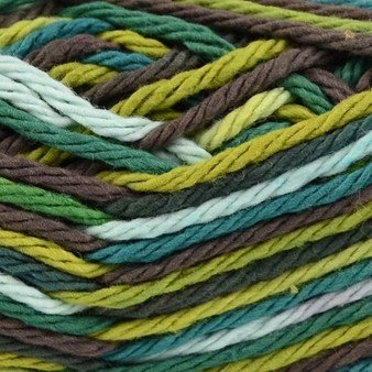 Bernat Rickrack Ombre Handicrafter Cotton Yarn - Small Ball (4 - Medium)