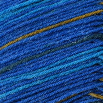 Regia #03707 Blue Stripes Regia 4-ply Color Yarn (1 - Super Fine)