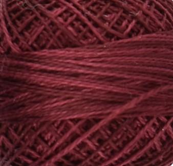 Valdani Rusty Burgundy Perle Cotton - Size 12 (Thread)