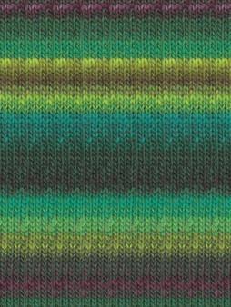 Noro #332 Green, Blue, Purple, Kureyon Yarn (4 - Medium)