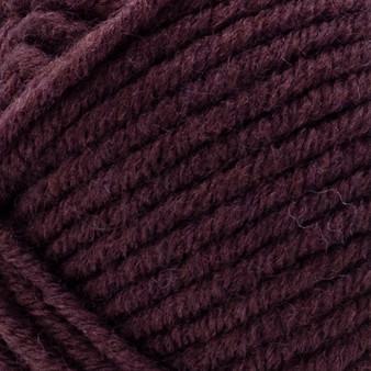 Lion Brand Burgundy Woolspun Yarn (5 - Bulky)