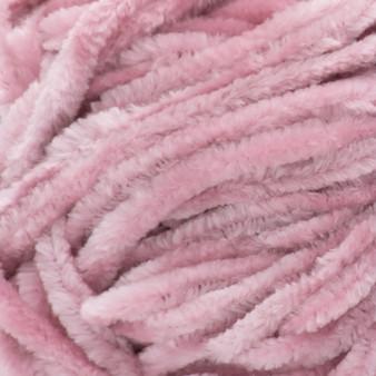 Bernat Pink Mist Baby Velvet Yarn - Small Ball (4 - Medium)