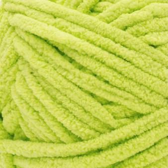 Bernat Bright Lime Blanket Yarn - Big Ball (6 - Super Bulky)