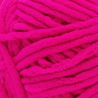 Bernat Bright Pink Blanket Yarn - Big Ball (6 - Super Bulky)