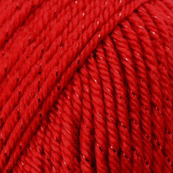 Caron Red Sparkle Simply Soft Party Yarn (4 - Medium)
