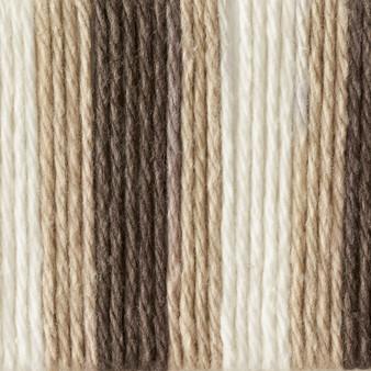 Bernat Chocolate Ombre Handicrafter Cotton Yarn - Big Ball (4 - Medium)