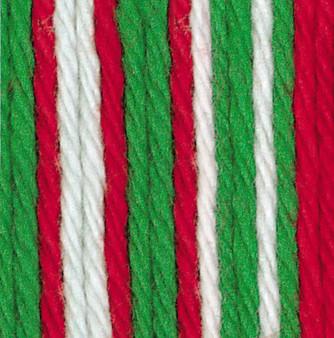 Bernat Mistletoe Ombre Handicrafter Cotton Yarn - Small Ball (4 - Medium)