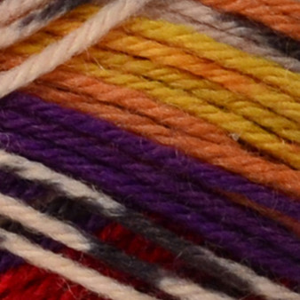 Sunset Stripes Jacquard Kroy Socks Yarn (1 - Super Fine) by Patons