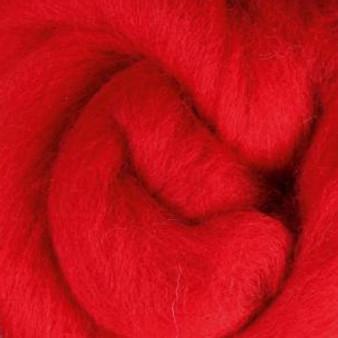 Felting Wool Scarlet Felting Wool