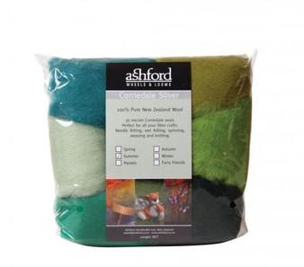 Felting Wool Summer Felting Wool - 7 Color Variety Pack
