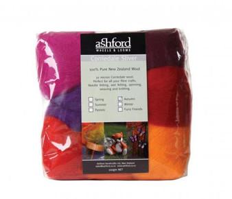 Felting Wool Autumn  Felting Wool - 7 Color Variety Pack