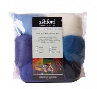 Felting Wool Winter Felting Wool - 7 Color Variety Pack