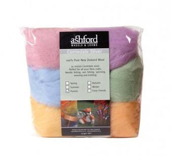 Felting Wool Pastels Felting Wool - 7 Color Variety Pack