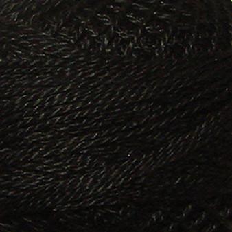 Valdani Black Perle Cotton - Size 12 (Thread)