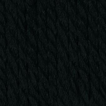 Phentex Black Worsted Yarn (4 - Medium)