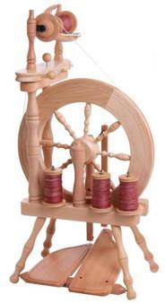 Ashford Traveller Double Treadle Single Drive Spinning Wheel