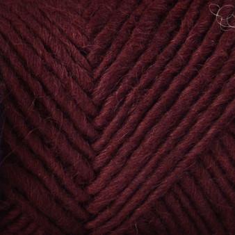 Brown Sheep Yarn Aubergine Lamb's Pride Worsted Yarn (4 - Medium)