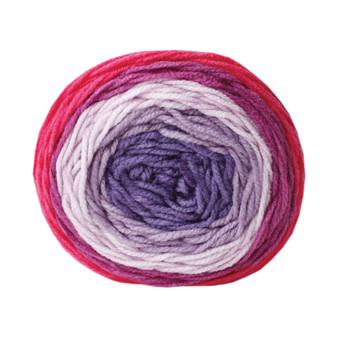 Bernat Violet Vision Pop Yarn (4 - Medium)