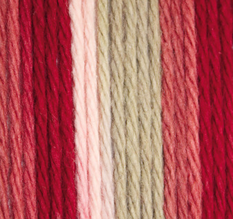Lily Sugar 'n Cream Damask Ombre Lily Sugar 'n Cream Yarn - Super Size (4 - Medium)