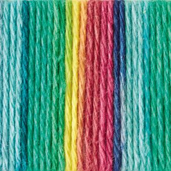 Lily Sugar 'n Cream Psychedelic Ombre Lily Sugar 'n Cream Yarn - Super Size (4 - Medium)
