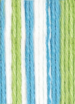Lily Sugar 'n Cream Mod Stripes Lily Sugar 'n Cream Yarn - Super Size (4 - Medium)