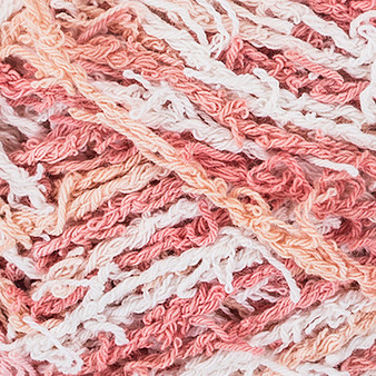 Red Heart Blissful Print Scrubby Cotton Yarn (4 - Medium)