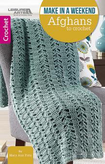 Weekend Afghans To Crochet - Little Book