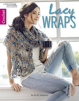 Lacy Wraps-Crochet- Book