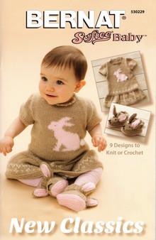 "Bernat Softee Baby ""New Classics"" Pattern Book"