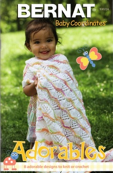 "Bernat Baby Coordinates ""Adorables"" Pattern Book"