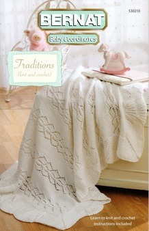 "Bernat Baby Coordinates ""Traditions"" Pattern Book"