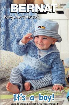 "Bernat Baby Coordinates ""It's A Boy!"" Pattern Book"
