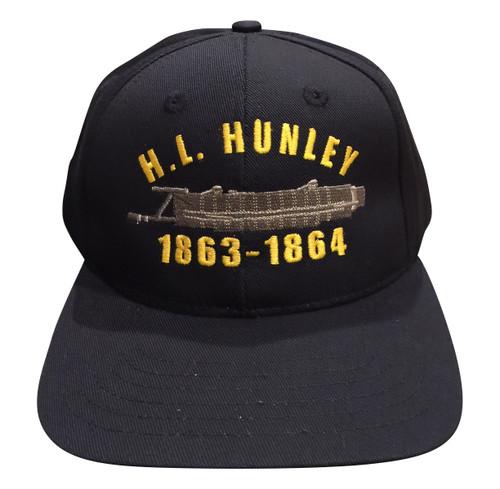 Navy H.L. Hunley Hat 1863-1864