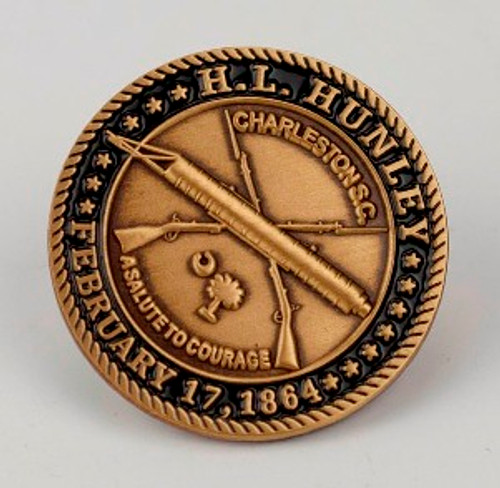 Salute to Courage Lapel Pin